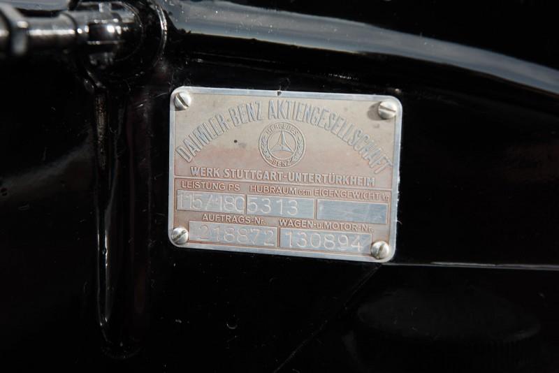 1937 Mercedes-Benz 540K Special 18