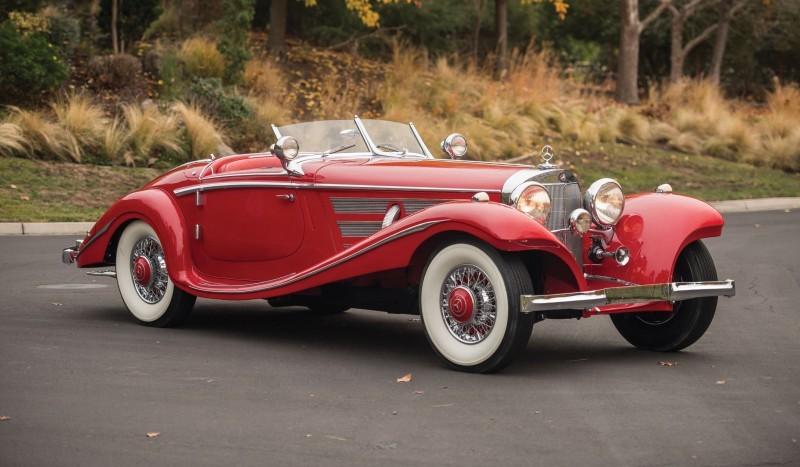 1937 Mercedes-Benz 540K Special 39