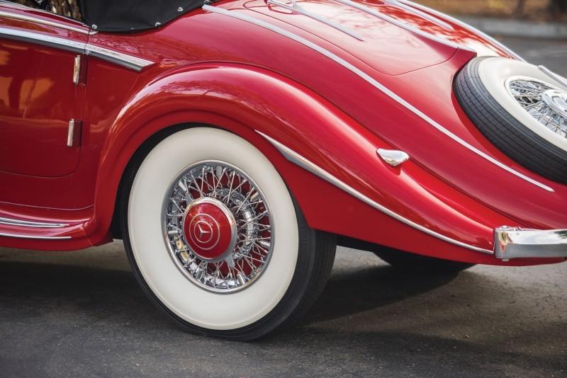 1937 Mercedes-Benz 540K Special 9