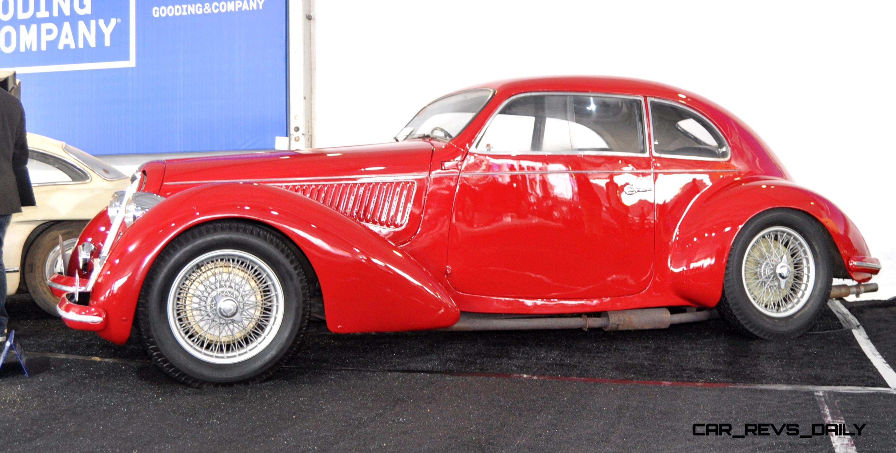 Gooding 2014 Pebble Beach Highlights 1938 Alfa Romeo 6c