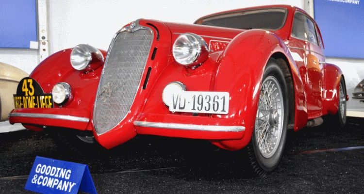 Gooding 2014 Pebble Beach Highlights 1938 Alfa Romeo 6c 2300b