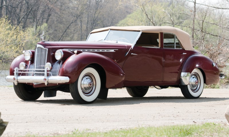 1940 Packard Custom Super Eight Convertible Sedan by Darrin 1