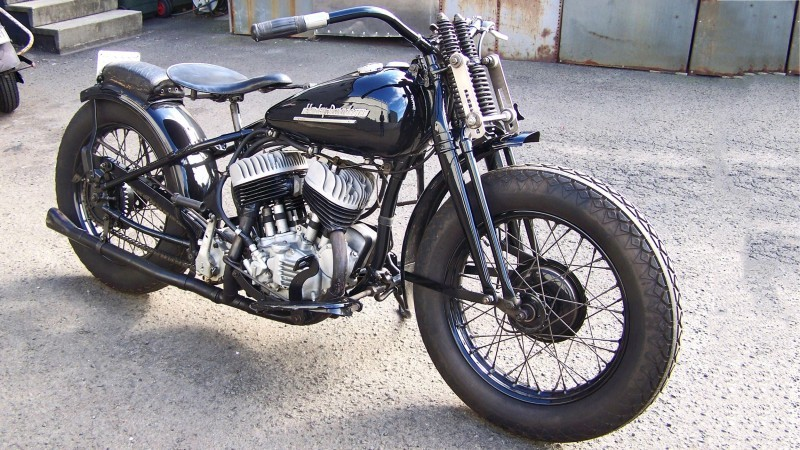 1951 Harley-Davidson WRTT 12