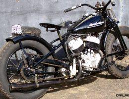 Mecum Vegas 2016 – 1951 Harley-Davidson WRTT Was Race-Fast Roadie