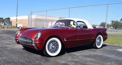 1953 Chevrolet Corvette Bubble Hardtop - 1989 Replica Vehicle 1