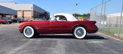 1953 Chevrolet Corvette Bubble Hardtop - 1989 Replica Vehicle 13