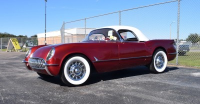 1953 Chevrolet Corvette Bubble Hardtop - 1989 Replica Vehicle 2