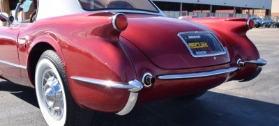 1953 Chevrolet Corvette Bubble Hardtop - 1989 Replica Vehicle 21