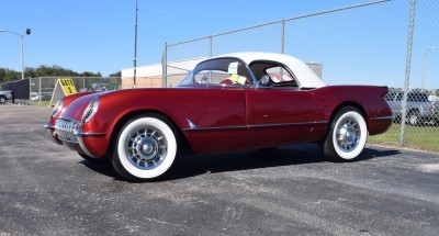 1953 Chevrolet Corvette Bubble Hardtop - 1989 Replica Vehicle 3