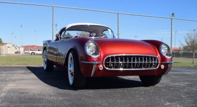 1953 Chevrolet Corvette Bubble Hardtop - 1989 Replica Vehicle 32