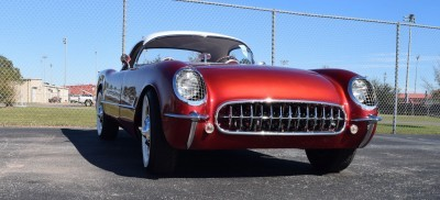 1953 Chevrolet Corvette Bubble Hardtop - 1989 Replica Vehicle 33