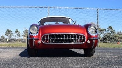 1953 Chevrolet Corvette Bubble Hardtop - 1989 Replica Vehicle 37