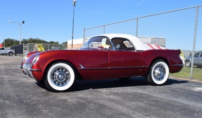 1953 Chevrolet Corvette Bubble Hardtop - 1989 Replica Vehicle 4