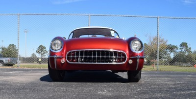 1953 Chevrolet Corvette Bubble Hardtop - 1989 Replica Vehicle 40