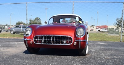 1953 Chevrolet Corvette Bubble Hardtop - 1989 Replica Vehicle 45