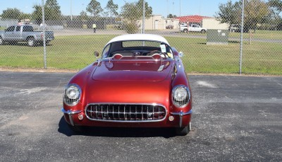 1953 Chevrolet Corvette Bubble Hardtop - 1989 Replica Vehicle 49
