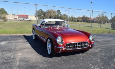 1953 Chevrolet Corvette Bubble Hardtop - 1989 Replica Vehicle 58
