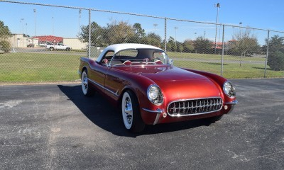 1953 Chevrolet Corvette Bubble Hardtop - 1989 Replica Vehicle 59