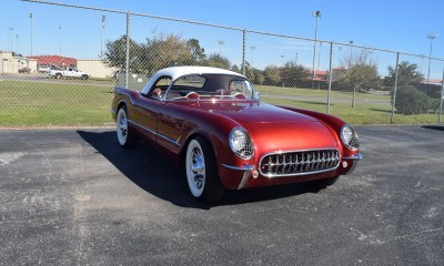 1953 Chevrolet Corvette Bubble Hardtop - 1989 Replica Vehicle 60