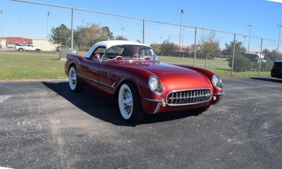 1953 Chevrolet Corvette Bubble Hardtop - 1989 Replica Vehicle 61