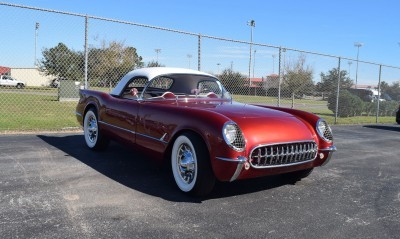 1953 Chevrolet Corvette Bubble Hardtop - 1989 Replica Vehicle 62