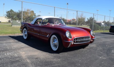 1953 Chevrolet Corvette Bubble Hardtop - 1989 Replica Vehicle 63