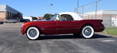 1953 Chevrolet Corvette Bubble Hardtop - 1989 Replica Vehicle 9