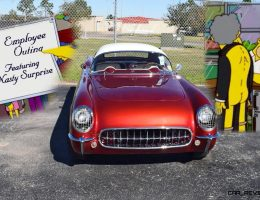 1953* Chevrolet Corvette with Bubble Hardtop – Featuring A Nasty Surprise