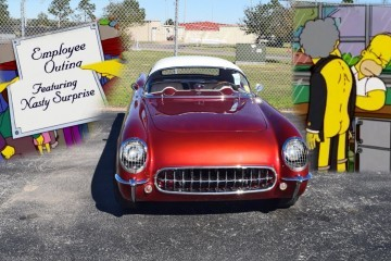 1953* Chevrolet Corvette with Bubble Hardtop - Featuring A Nasty Surprise