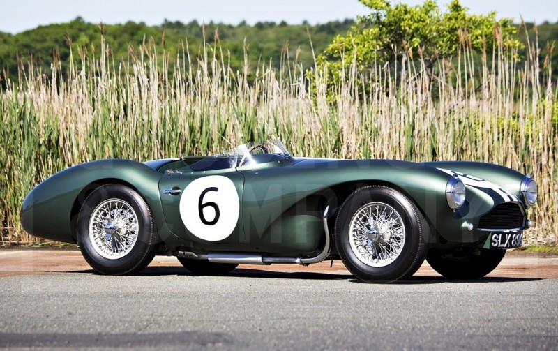 1955 Aston Martin DB3S Earns $5.5M At Gooding Pebble Beach 2014  1