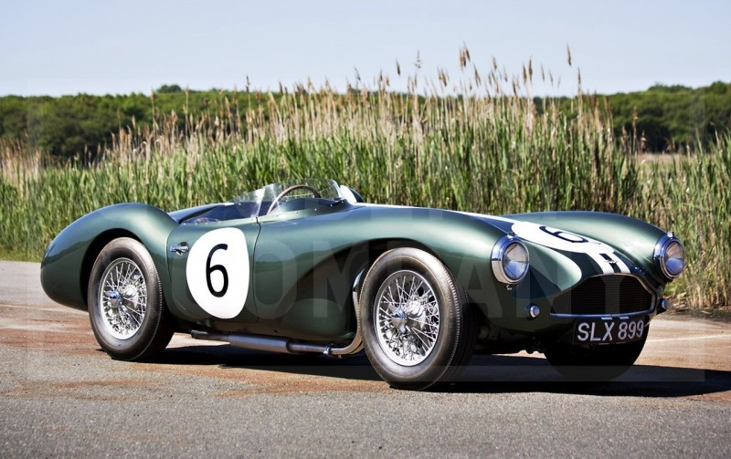 1955 Aston Martin DB3S Earns $5.5M At Gooding Pebble Beach 2014  12