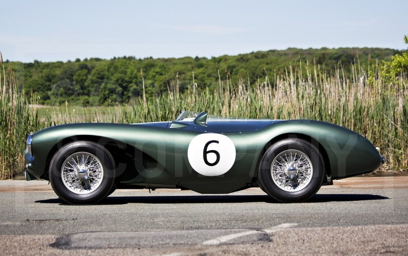 1955 Aston Martin DB3S Earns $5.5M At Gooding Pebble Beach 2014  14