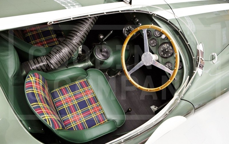 1955 Aston Martin DB3S Earns $5.5M At Gooding Pebble Beach 2014  17