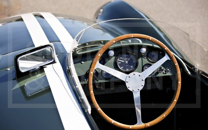 1955 Aston Martin DB3S Earns $5.5M At Gooding Pebble Beach 2014  18