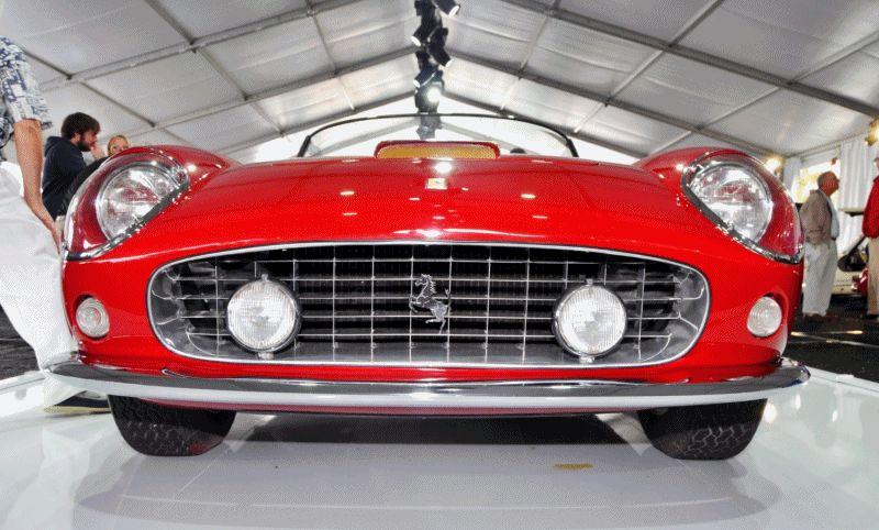 1961 Ferrari 250GT SWB California Spider gif