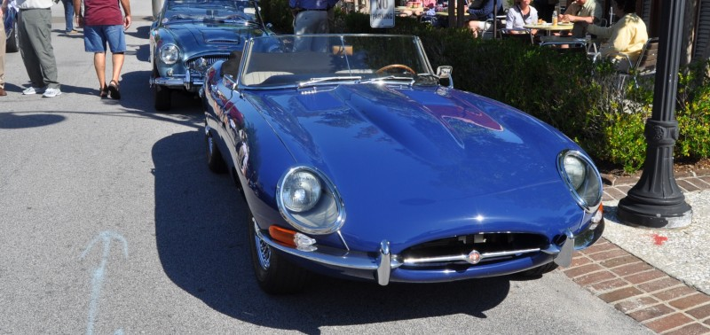 1963 JAGUAR E-Type Series 1 Classes Up Kiawah Island Cars and Coffee 1
