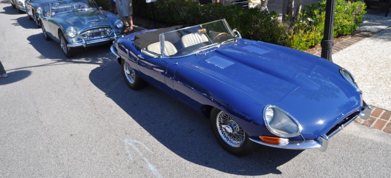 1963 JAGUAR E-Type Series 1 Classes Up Kiawah Island Cars and Coffee 11