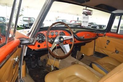 1963 Maserati 3500GTi Interior 5
