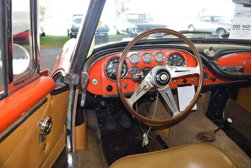 1963 Maserati 3500GTi Interior 7