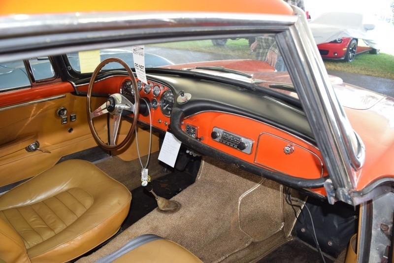1963 Maserati 3500GTi Interior 8