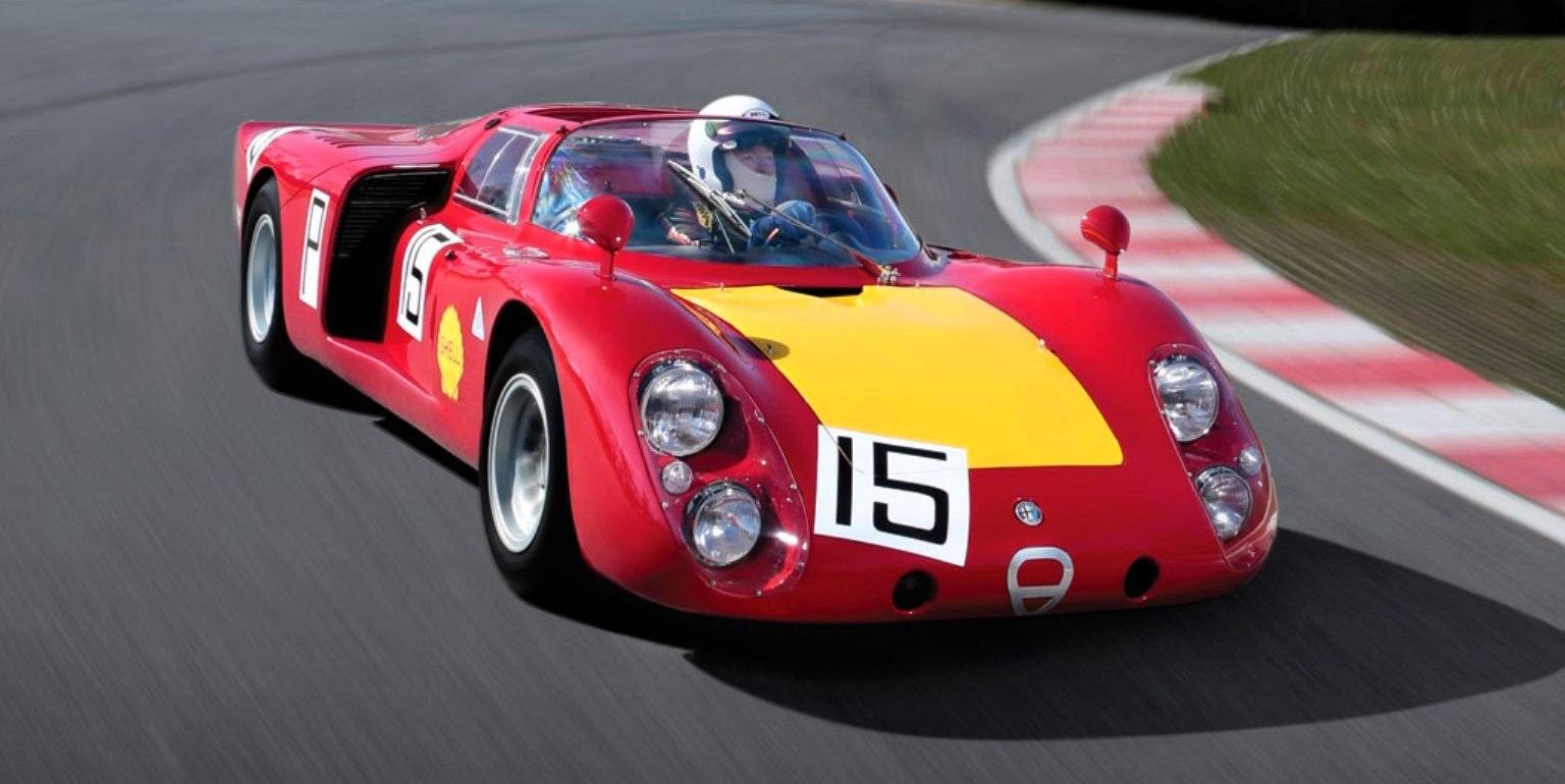 1968 Alfa Romeo Tipo 33  2 Daytona  1 72m Rm Auctions 2014