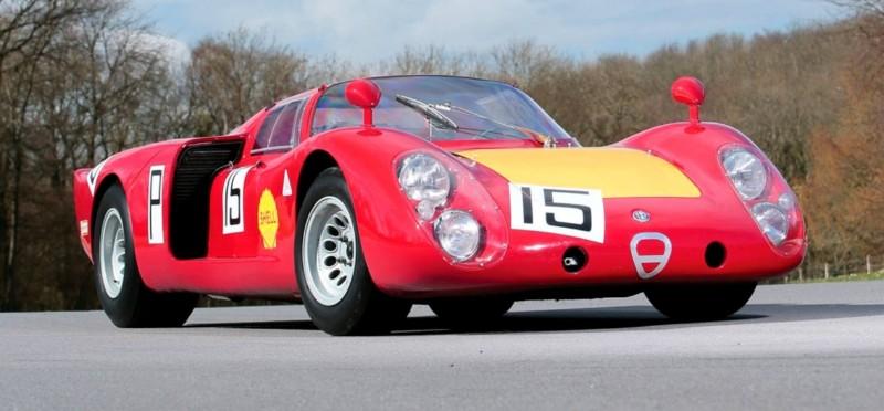 1968 Alfa Romeo Tipo 33-2 Daytona RM Auctions MONACO 2014 19