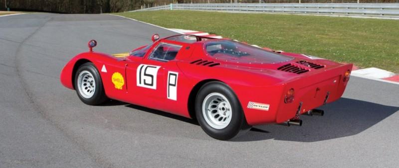 1968 Alfa Romeo Tipo 33-2 Daytona RM Auctions MONACO 2014 2