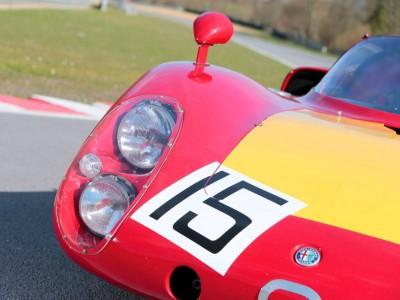 1968 Alfa Romeo Tipo 33-2 Daytona RM Auctions MONACO 2014 21