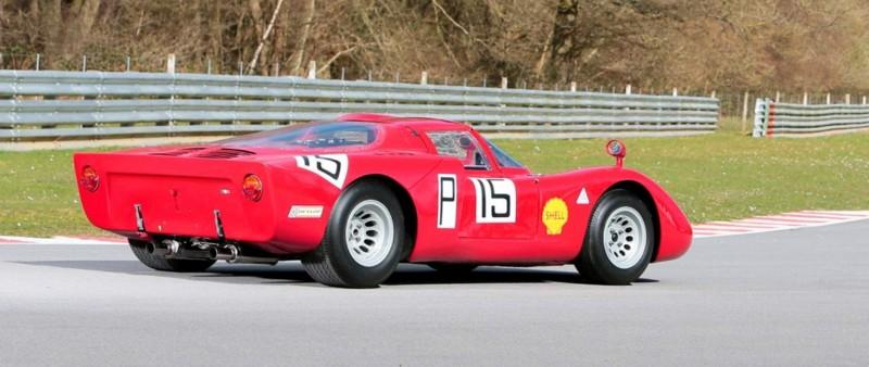 1968 Alfa Romeo Tipo 33-2 Daytona RM Auctions MONACO 2014 22
