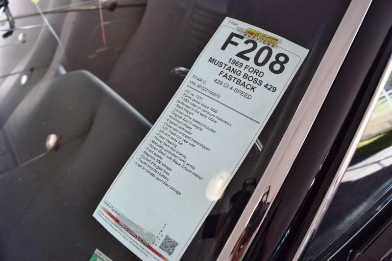 1969 Ford Mustang BOSS 429 in Raven Black 26