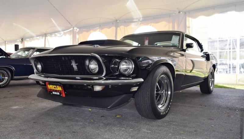 1969 Ford Mustang BOSS 429 in Raven Black 27