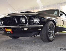 Mecum 2016 Florida Favorites – 1969 Ford Mustang BOSS 429 in Raven Black