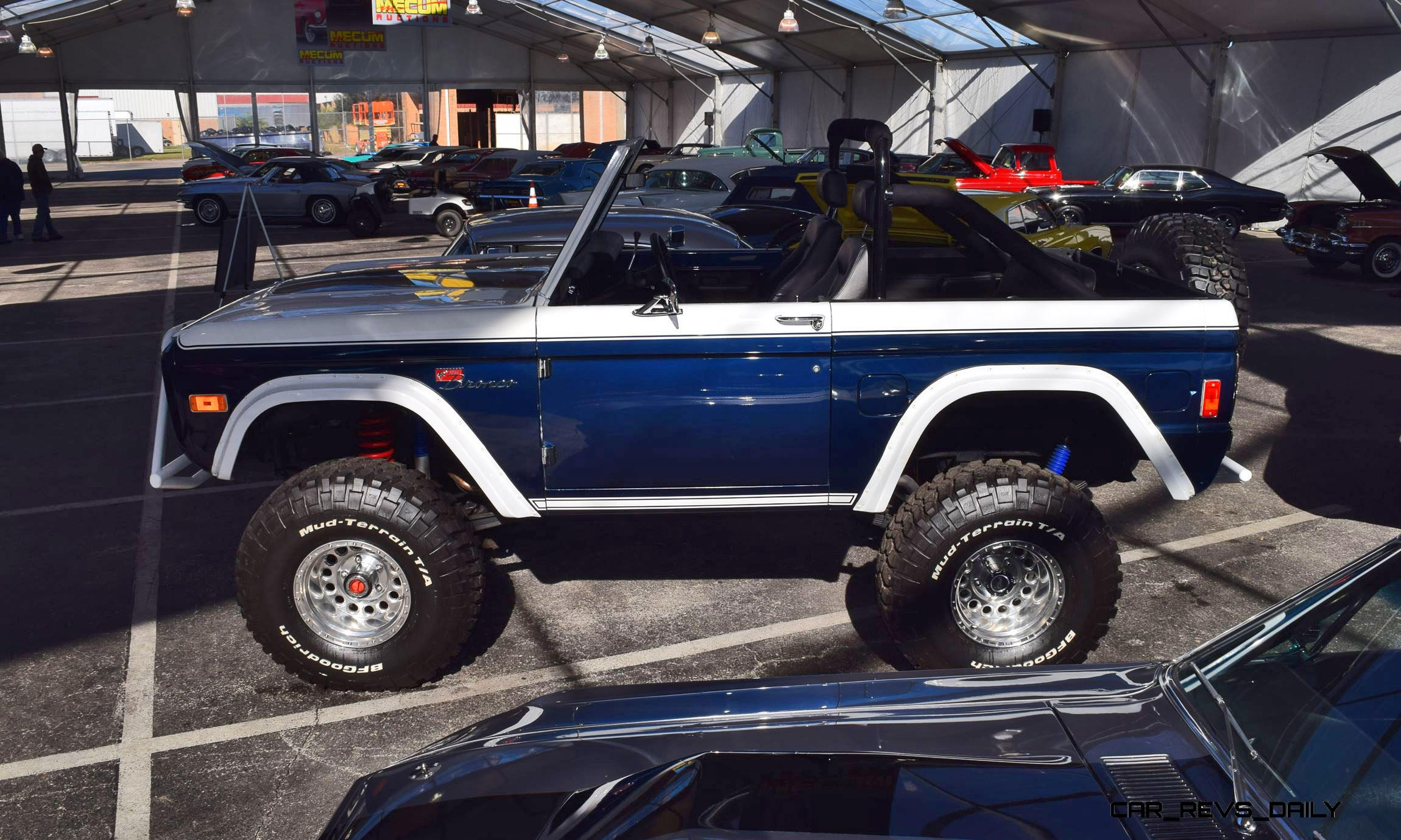 Mecum 2016 1977 Ford Bronco Sport 5 0 Roadster In White