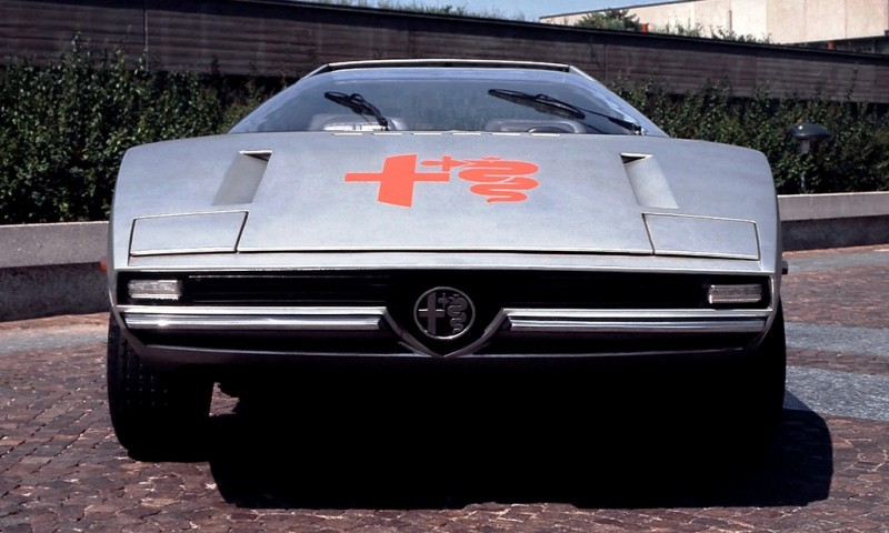 1971 Alfa-Romeo Caimano Concept 4